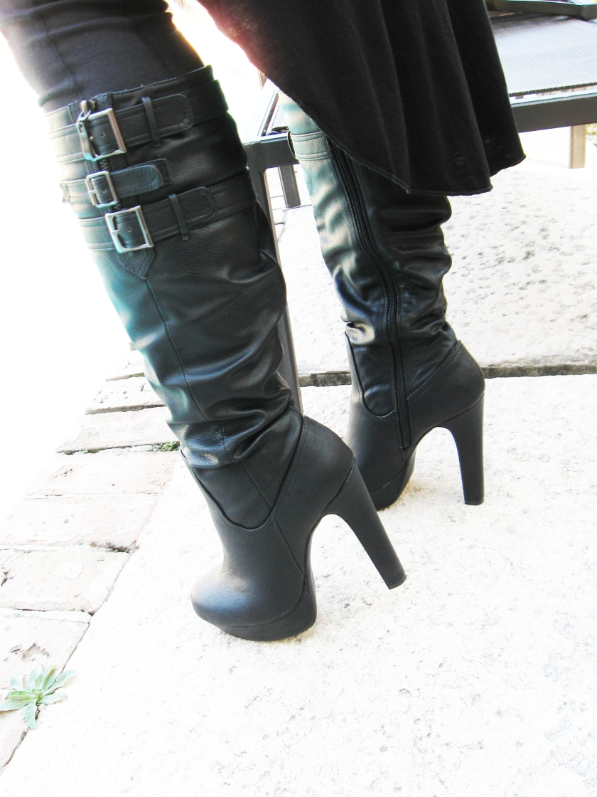 Femme Fatale Boots.