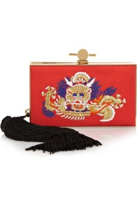 Jason Wu Embroidered Clutch