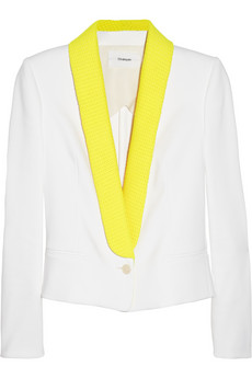 Chalayan Cotton-Blend Sateen White Neon Jacket