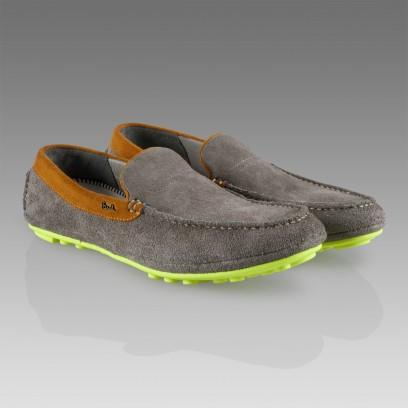 Paul Smith Grey Holger Loafers