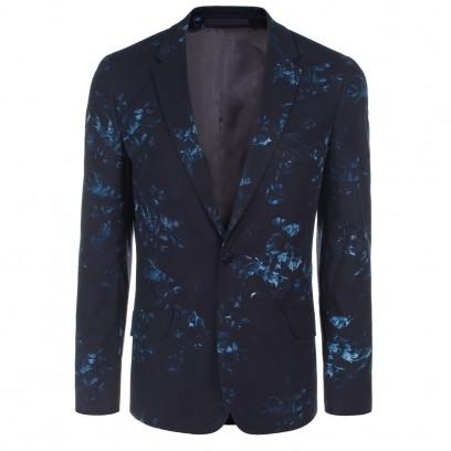 Paul Smith Navy Floral Print Jacket