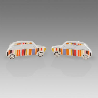 Paul Smith Signature Striped Mini Cufflinks