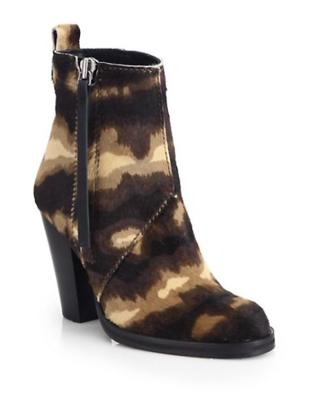 3-Acne-Studios-Women-s-Colt-Pony-Printed-Calf-Hair-Ankle-Boot-1