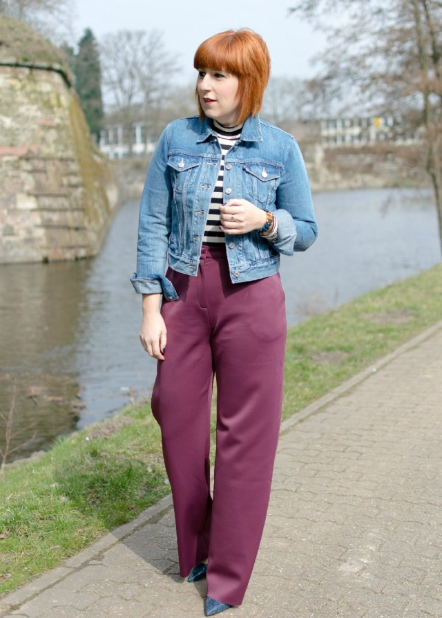 Kirsten, TheLIFBissue, The Fab 40s in Marsala & Denim