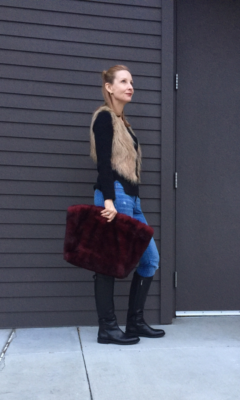 The Fab 40s In Faux Fur | Fashion Should Be Fun
