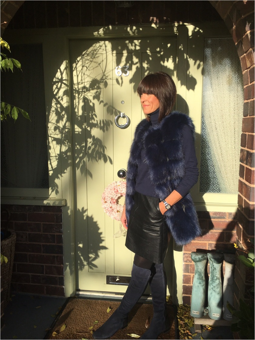 The Fab 40s In Faux Fur | My Midlife Fashion