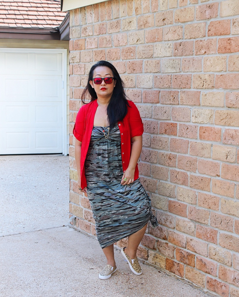 Camo & Leopard & Red, Oh My | Sheela Writes