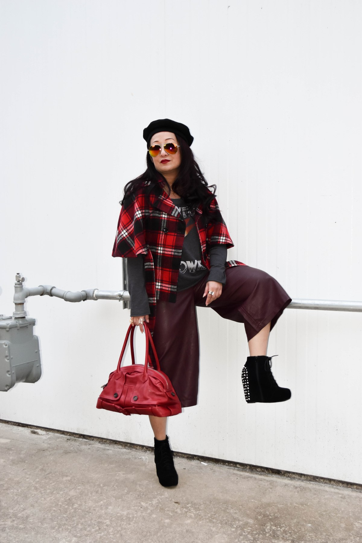 The Fab 40s Take On Plaid | Sheela Writes